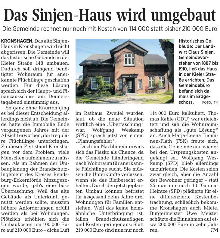 Sinjen-Haus